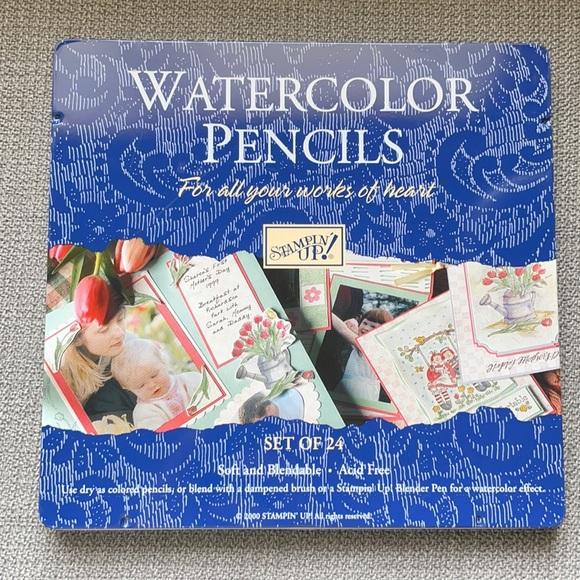 Stampin Up Watercolor Pencils